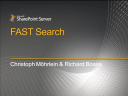 2010/MicrosoftSharePoint2010/Fast-Search-RichardBosse