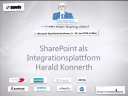 2010/MicrosoftSharePoint2010/SharePoint-Integrationsplattform-HaraldKonnerth