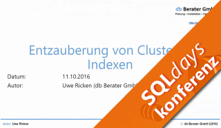 2016/SQLdays2016/Clustered-Indexen-UweRicken