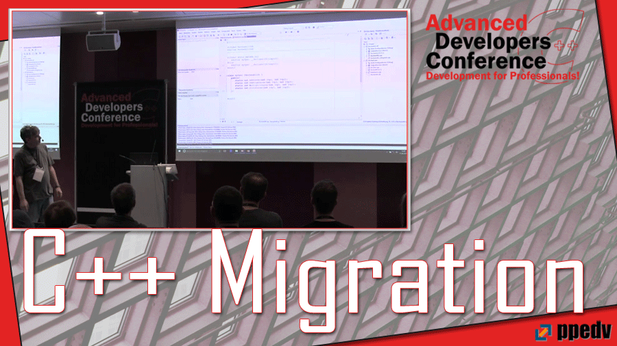 2017/ADCpp/ADCpp-Advanced-Developers-Conference-visual-studio-CPlusPlus-Migration-VolkerHillmann