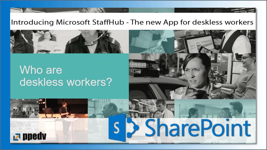 2017/SharePoint/sharepoint-konferenz-microsoft-staffhub-schedule-management-office-365-kiosk-ThomasGoelles