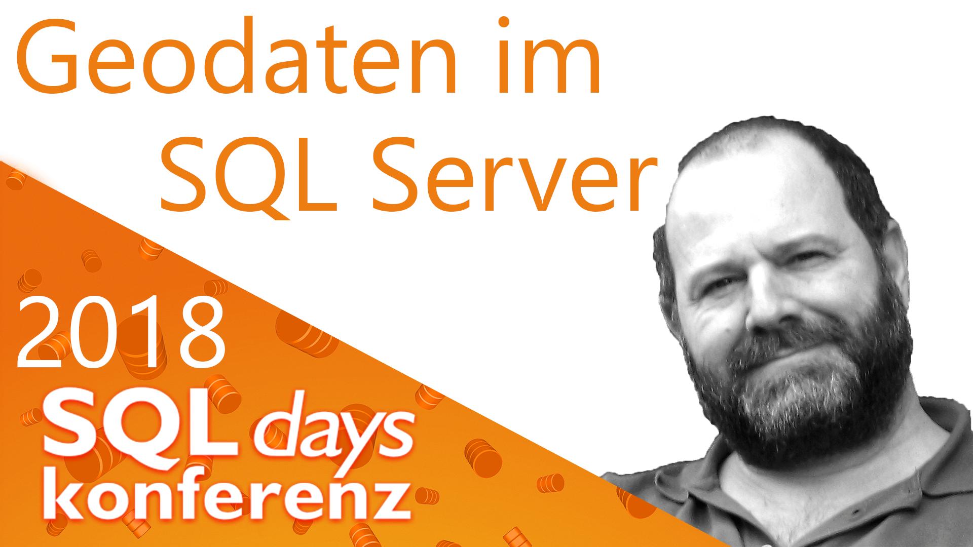2018/SQLDays/GeodatenimSQLServer