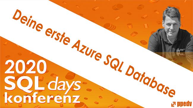 2020/SQLdays/SQLdaysDeineersteAzureSQLDatabase