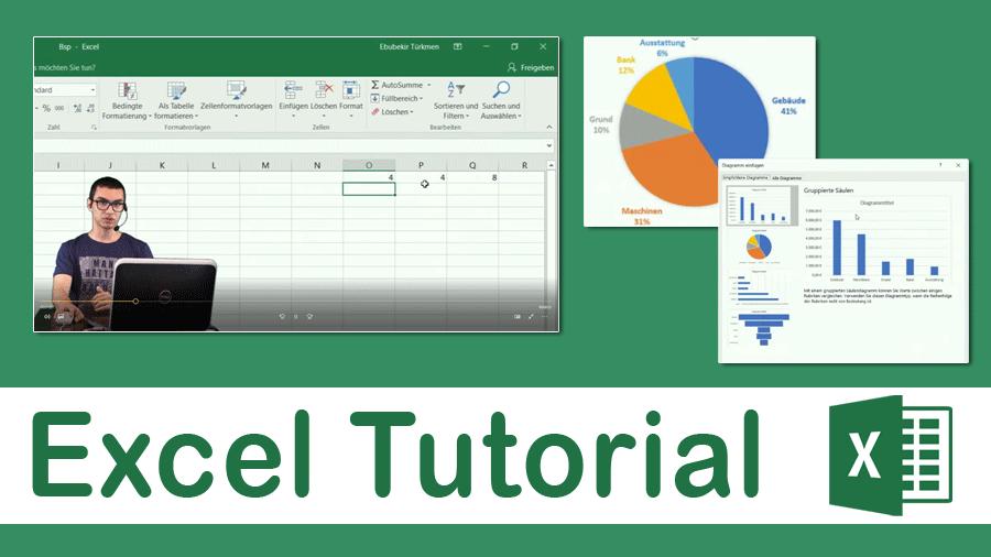 2017/Trainer/Excel-Tutorial-Tabellenkalkulation-HowTo-Tortendiagramm-Diagramm-Rechenoperationen-Rechenbefehle-Standard-Funktionen-Office-EbubekirTuerkmen
