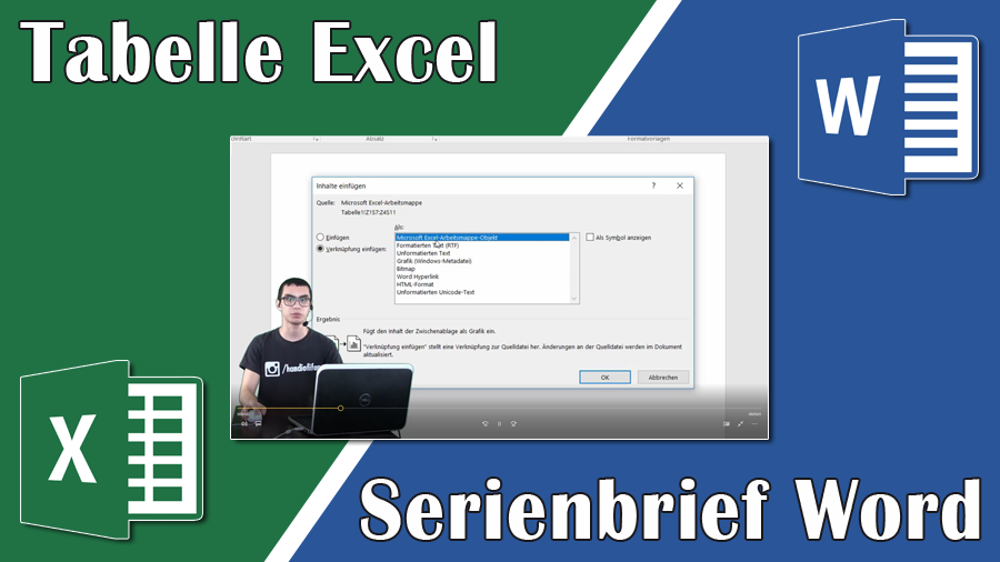 2017/Trainer/Serienbrief-Word-Excel-Tabelle-Windows-Tutorial-Microsoft-Office-Office365-Import-EbubekirTuerkmen